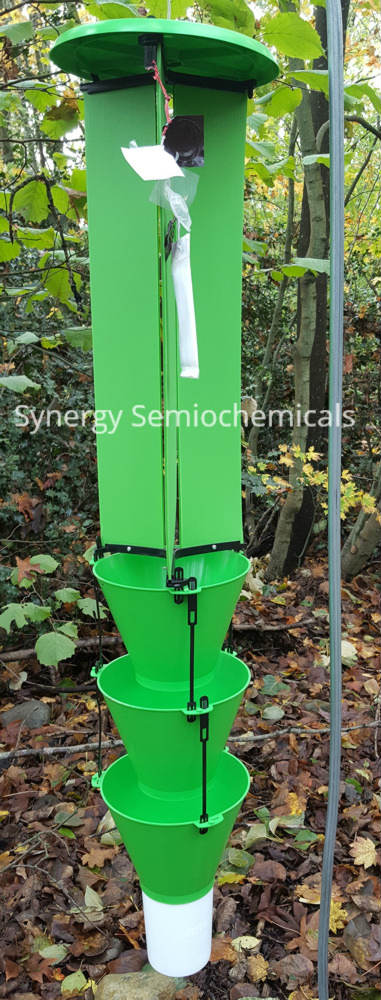 image of Synergy Semiochemical's green multitrap