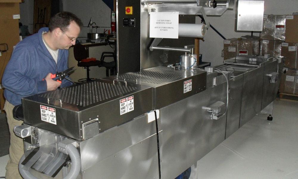 image of mch bubble cap machine